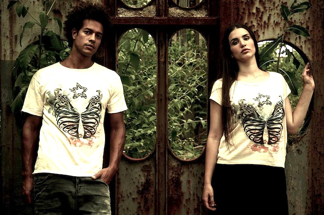eco-fashion, green design, sustainable design, ancient Persian, Zameeg, GOTS certified, organic material, US-eco t-shirts, crowdfunding, kickstarter