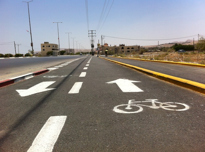 bike lane jericho jerusalem palestine