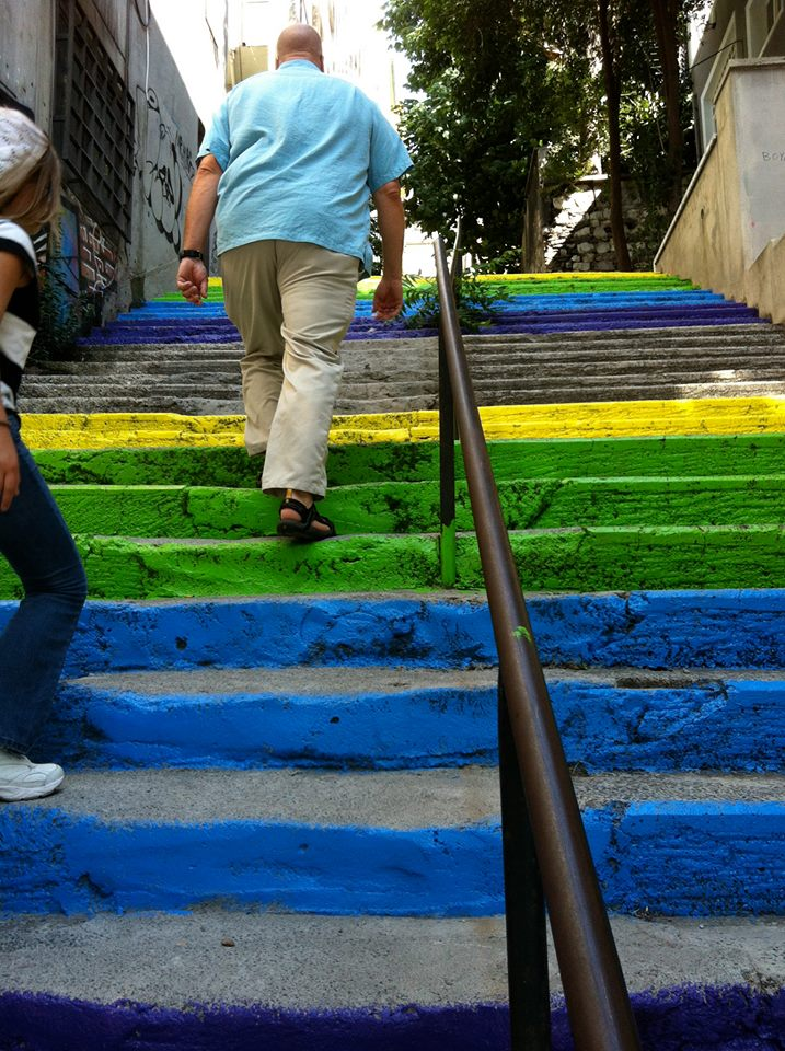 Istanbul Painted Stairs