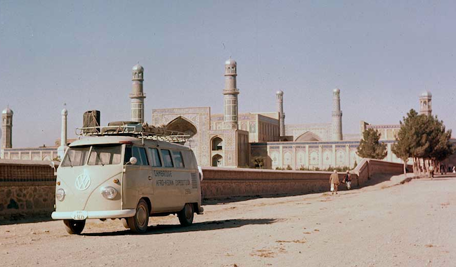 VW Bus, Middle East, iconic hippie van, nostalgic VW van tour, Middle East, Brazil ends VW van production, travel, auto