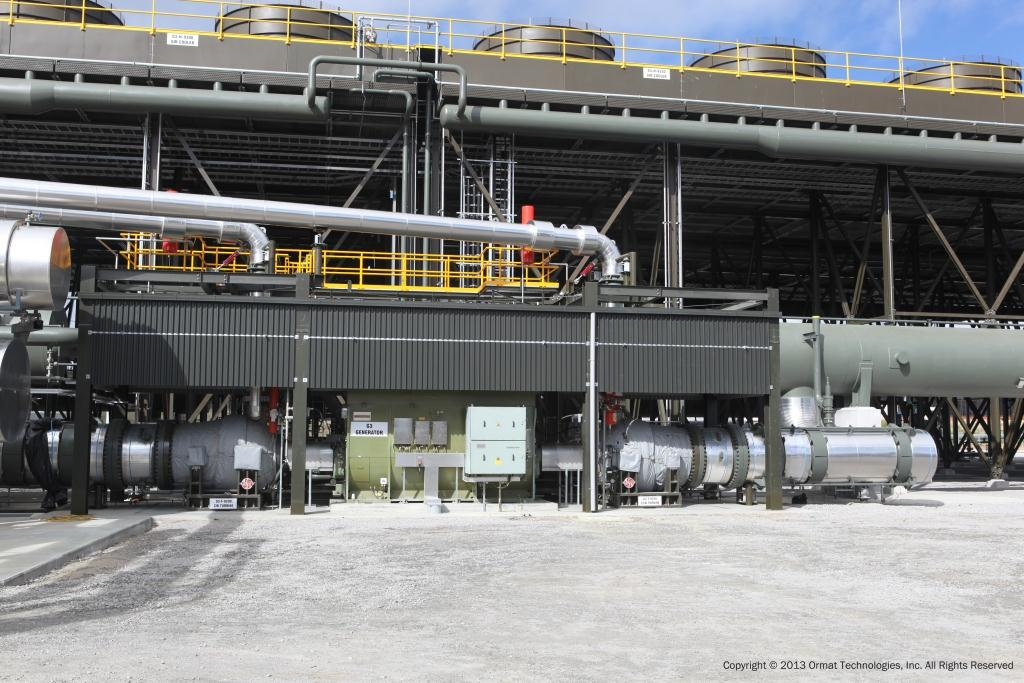 ormat geothermal power plant