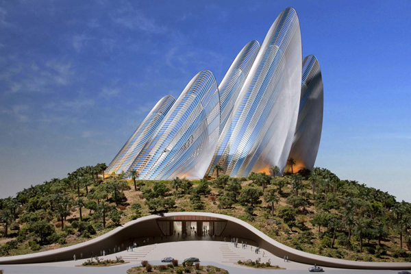 Futuristic Zayed National Museum Cooled With Wing Shaped