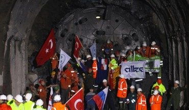 Turkey Opens World's Deepest Subsea Tunnel, the Marmaray, Connecting Asia to Europe