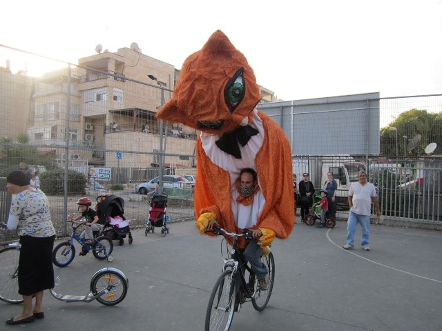 "Jerusalem's Eco Bike ""Festigalgal"" Says Ride to Work!"