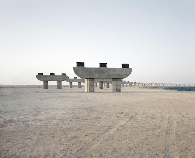 Palm Jebel Ali flyover, Richard Allenby-Pratt, photography, Dubai abandoned structures, google earth, environmental photography, curious desert structures in Dubai