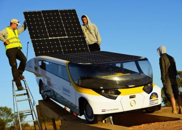 First Practical Sun-Powered Car Stella Wins World Solar Challenge 2013
