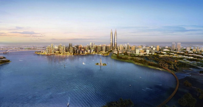 The Lagoons, Dubai, green development, cultural hub, green transportation, Dubai developments, urban planning