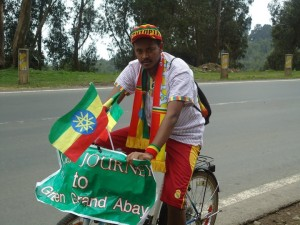 Global Power Shift, 350.org, youth movements, environmental activism, Global Power Shift Ethiopia, Man Cycles Across Ethiopia,