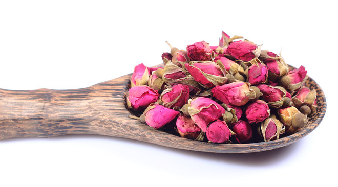 image dried rose petals