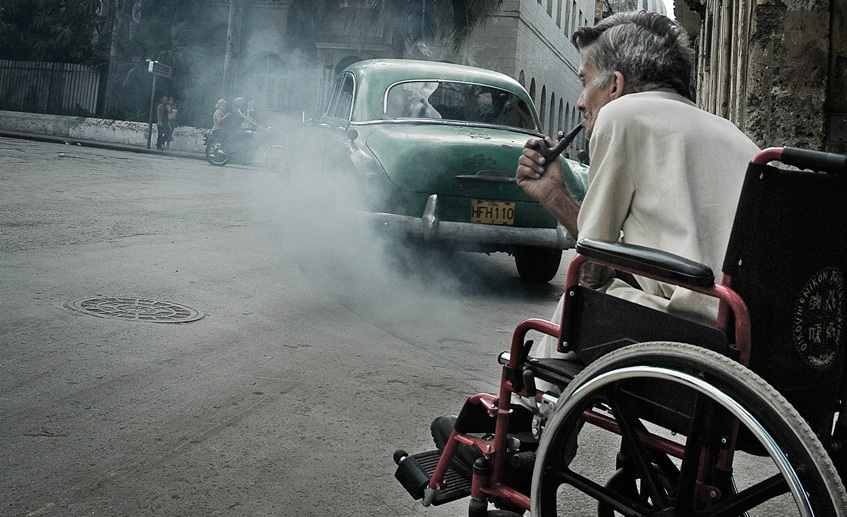 havana-pipe-smoke-wheelchair marijuana