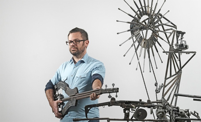 lethal arms as instruments Pedro Reyes' Disarm
