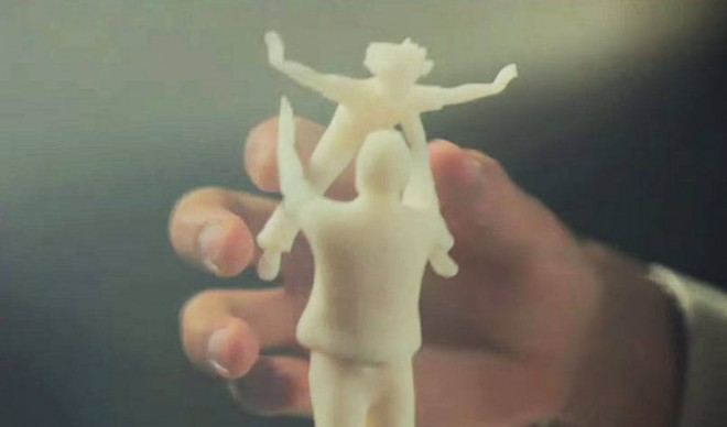 3D printed photographs let the blind see