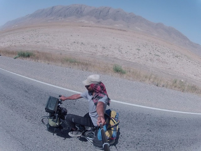 Ten months, 7000 miles of earth, a bike, and a Tunisian passport