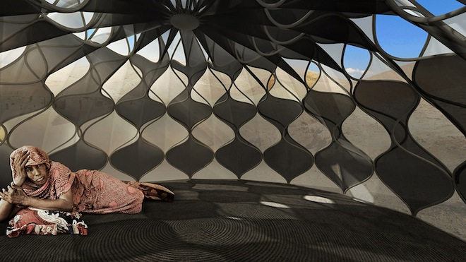 eco refugee shelters