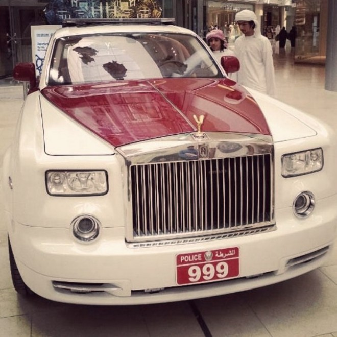 Rolls Royce Phantom Joins Abu Dhabi Police Fleet Green Prophet