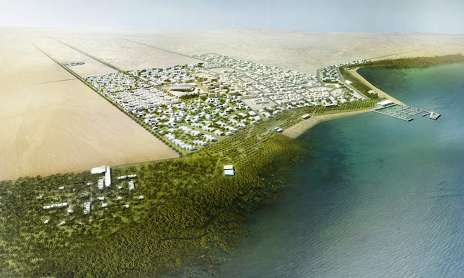 Al Dhakira Expansion, RRC Studio, Mangrove Forests, Qatar, 2022 World Cup, Persian Gulf, Marine ecosystems, marine ecology, Qatar rapid expansion, urban development