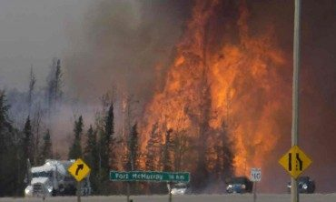 Alberta Tar Sands wildfire and global warming