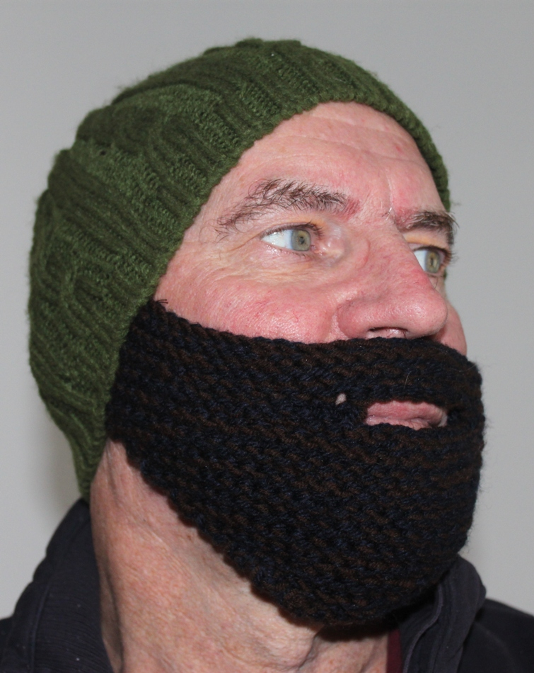 Grow a Middle Eastern Beard in Under 2 Hours! [knit pattern]