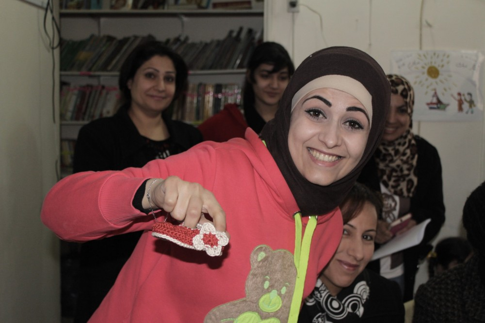Jordan's special refugees: giving back to others