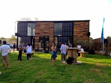 Colonel microbrewery built with recycled materials opens in Lebanon