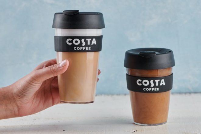 Free coffee to reusable cupholders