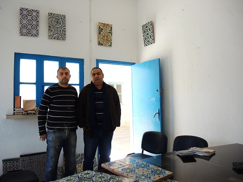 Tunisian Handmade Tiles workshop owners