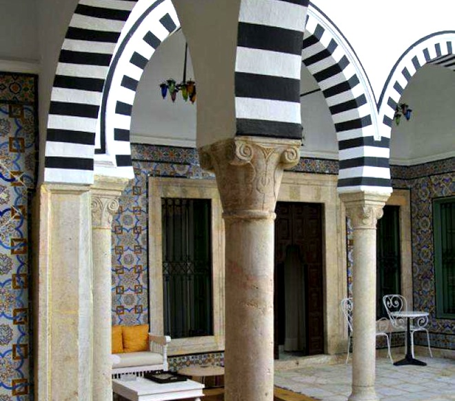 Dar Ben Gacem, green renovation, restored Ottoman hotel, Tunis, Medina, Tunis boutique hotels, eco-tourism, travel,