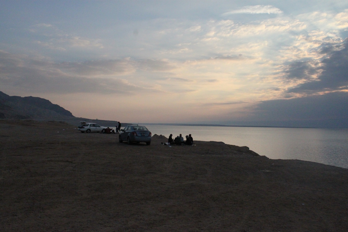 Dead Sea twilight