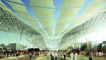 Flexible Solar Canopy to Cover Dubai's 2020 Expo Pavilions