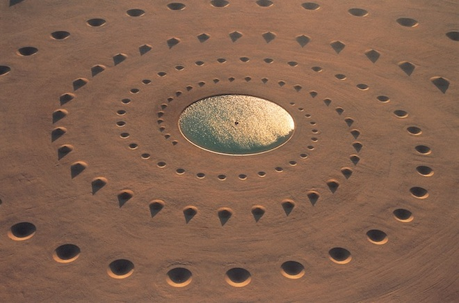 Egyptian Desert, Sand Spiral, land art, Sinai, land mines, conical sand spirals, desert breath, travel, environment