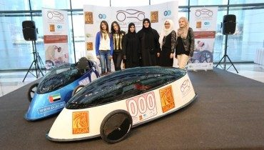 Empowered Qatari girls win first GCC hybrid electric car competition