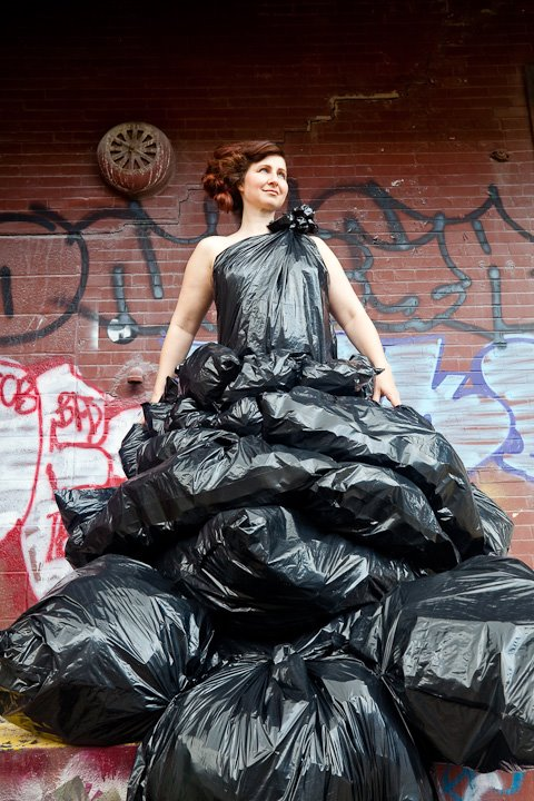 What Can You Do With One Giant Trash Bag