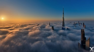 Dubai fog and urban canyons through the lens of Daniel Cheong