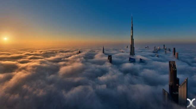 Heavenly_Photographs_of_Dubai_Skyscrapers_in_a_Sea_of_Clouds_by_Daniel_Cheong_2014_01