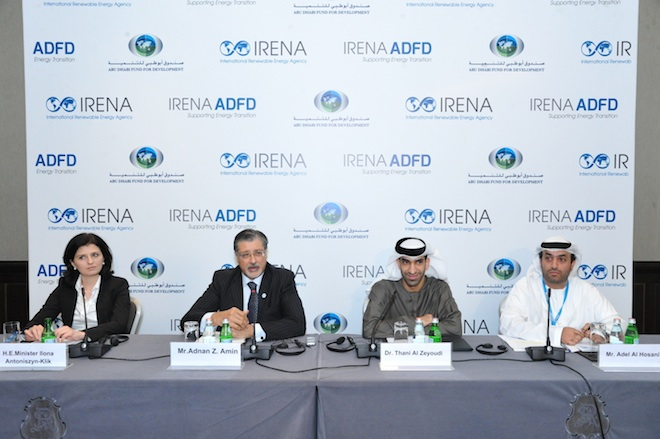 Global leaders make plans at world's biggest energy shindig – IRENA in Abu Dhabi