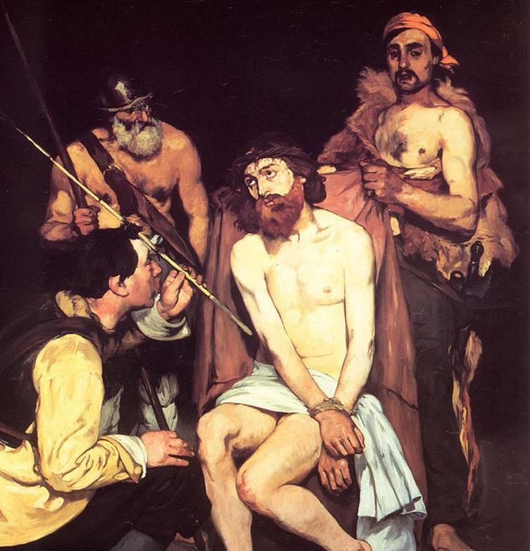 Jesus-Mocked-by-Edouard-Manet