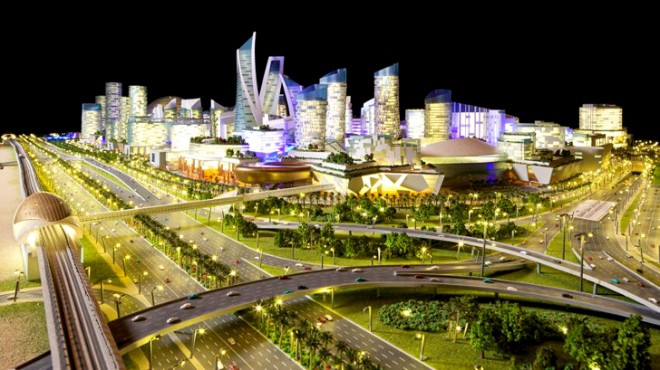 Mall of the World, Dubai Holding, Pedestrian City, Gulf, Dubai Expo 2020, 2020 Expo Dubai, urban planning, world's largest shopping mall,