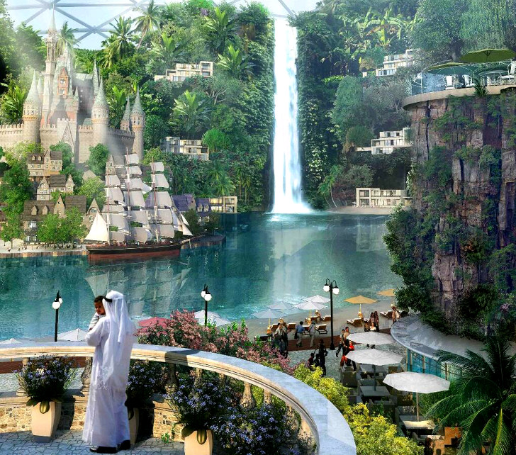 Dubai's new air conditioned city to woo the wealthy elite