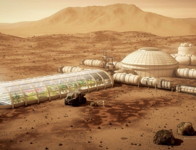 Is a uae mini city on mars far fetched green prophet for Construction habitat