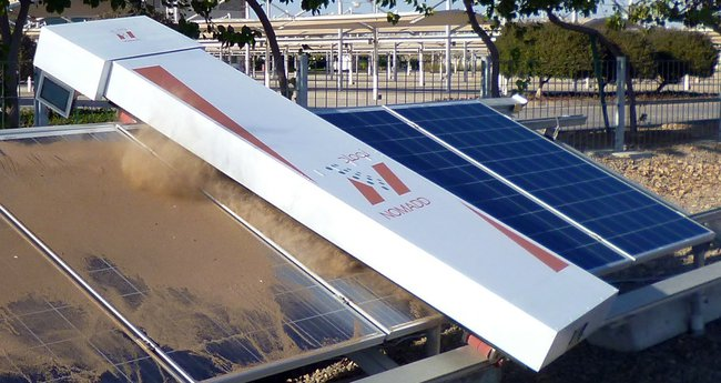 Nomadd Robots Clean Saudi Solar Panels Without Using A