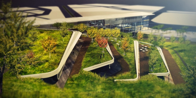 OSTIM Eco Park, ONZ Architects, green design turkey, turkish designers, turkish architects, sustainable design turkey, turkey clean tech hub, ankara clean tech hub