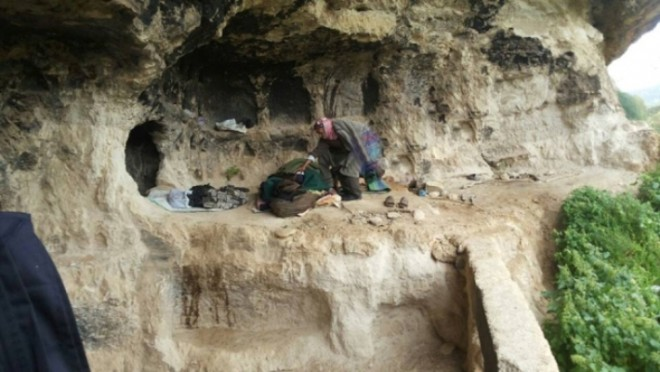 Living In The Mountains caveman found living in jordan mountains! | green prophet