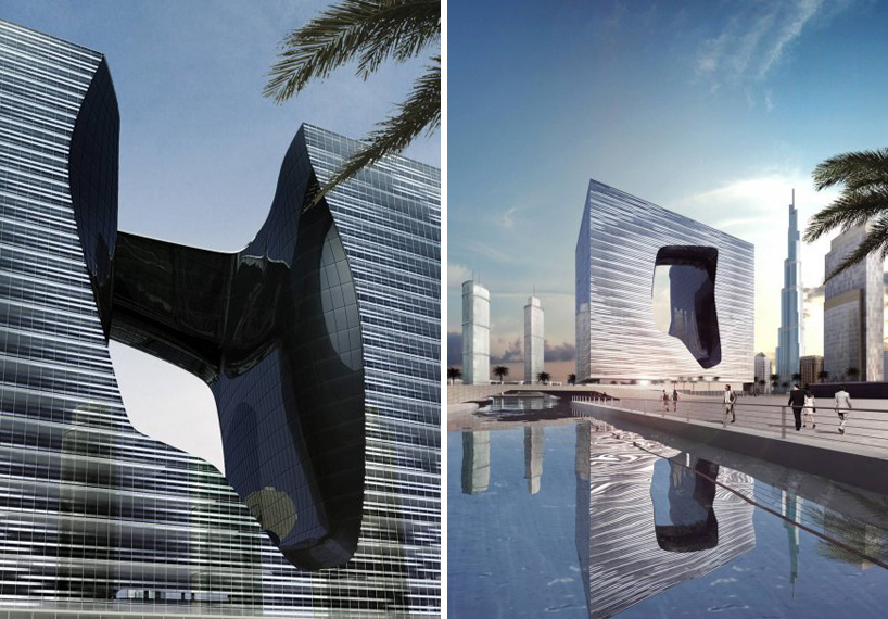 Opus tower zaha hadid 39 s latest luxury composition in for Architecture firms in dubai