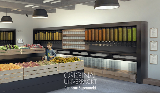 Original Unverpackt, Berlin, waste-free supermarket, zero-waste supermarket, bulk foods, sustainable food, zero packaging, bring your own container to this store, Berlin grocery stores, souqs, markets without packaging