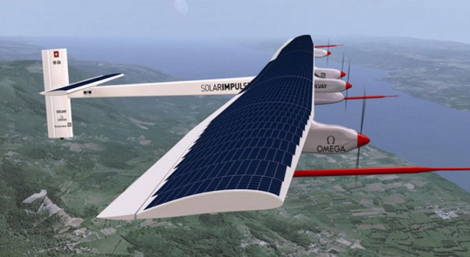 Solar Impulse 2 will fly around the world in 2015