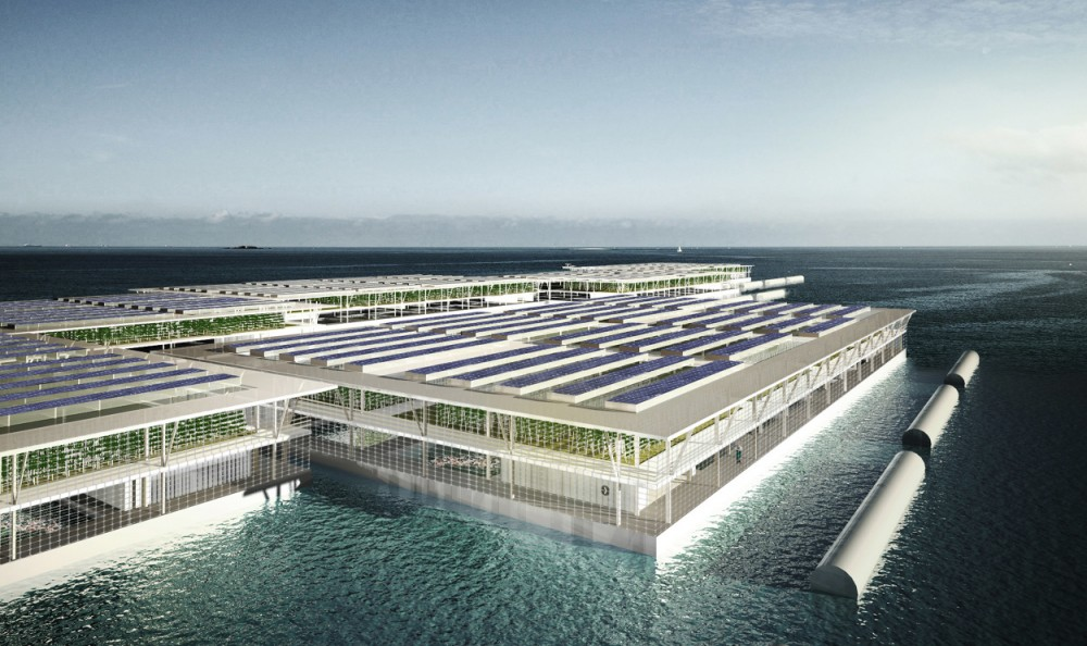 Floating farms may soon feed the world!