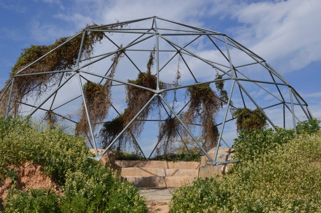 SHE geodesic dome