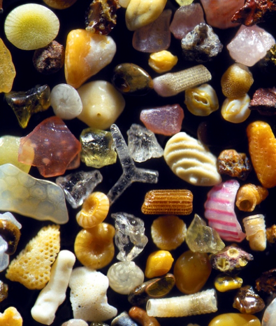 Greenberg's sand grains