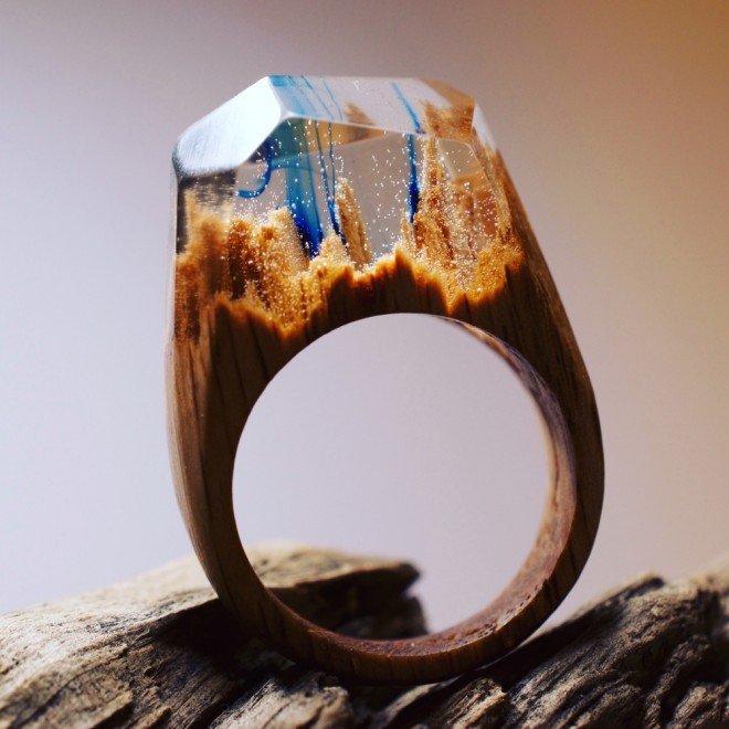 nature in a ring