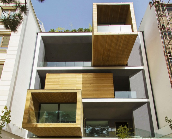 Sharifi House, nextoffice, tehran, Iran, Iranian architecture, transformer house, rotating house, rotating rooms, daylighting, energy efficiency, modular design, iranian architects
